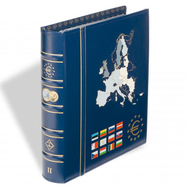 Münzalbum VISTA, für Euros Die neuen Länder Band 2, inkl.Schutzkassette, blau