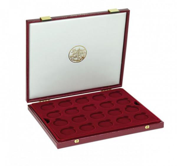 Luxus-Kassette für 40 Stück 500 Schilling-Münzen (38 mm ø)
