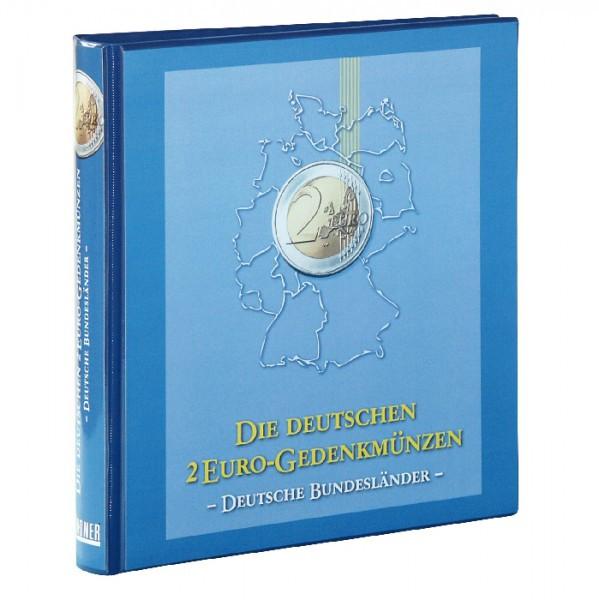 """Vordruckalbum 2 Euro-Gedenkmünzen: Serie """"Deutsche Bundesländer"""""""