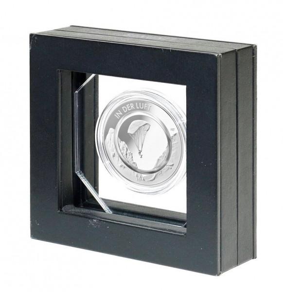 Präsentationsrahmen für eine 10 Euro Sammlermünze mit Polymerring