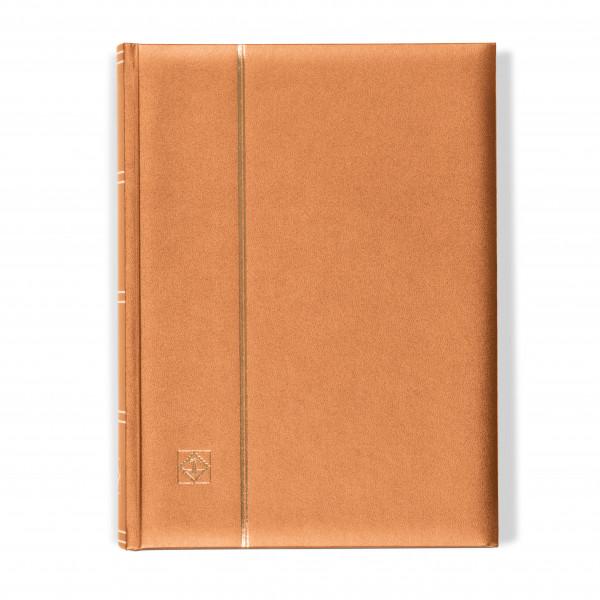 Einsteckbuch COMFORT, DIN A4, 64 chamoisfarbene Seiten, wattierter Einband