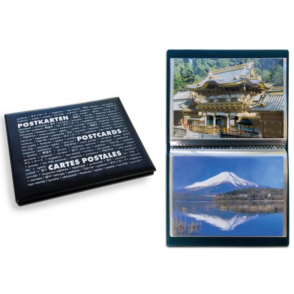Taschenalbum ROUTE Postcards,blau