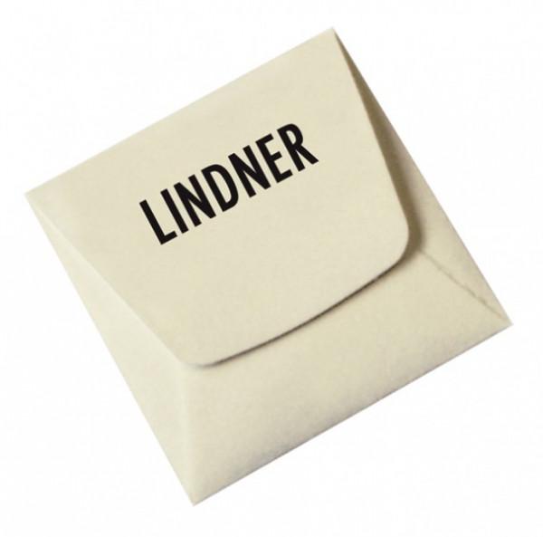 Münz-Taschen aus säurefreiem weißem Papier, 50 x 50 mm, 100er-Packung