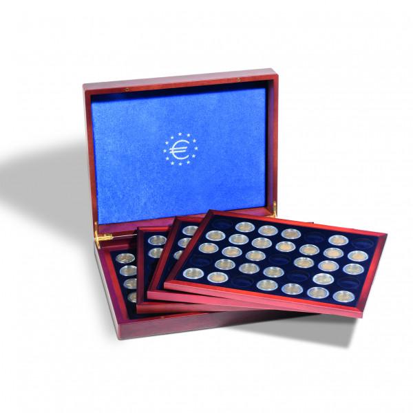 Münzkassette VOLTERRA QUATTRO de Luxe für 2-Euro-Münzen
