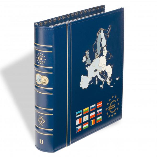 """OPTIMA Ringbinder """"Euro"""" Classic-Design, farb. Rücken- und Deckelprägung,inkl.Schutzkass."""