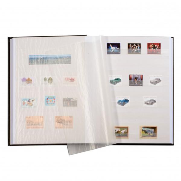 Einsteckbuch COMFORT, DIN A4, 32 weiße Seiten, wattierter Einband