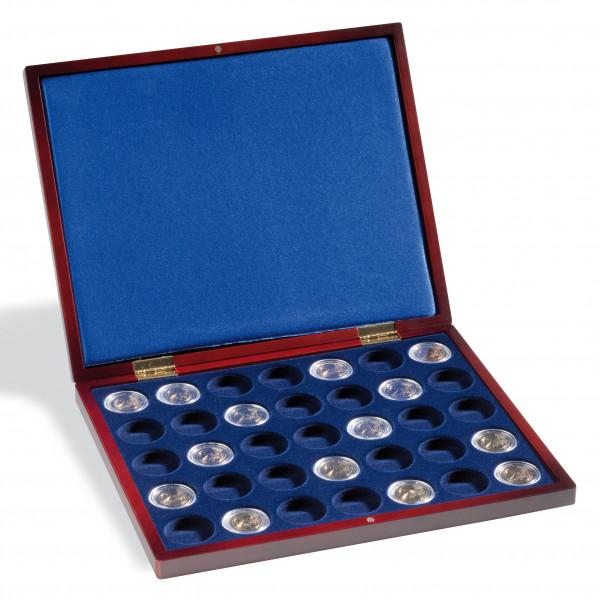 Münzkassette VOLTERRA UNO de Luxe, für 35 Münzen in CAPS26/27