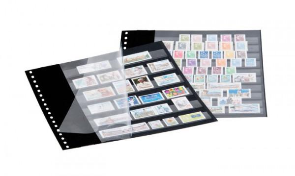 Einsteckblätter mit 10 Klarsichtfolien-Streifen, 18-Ring-Lochung, 10er-Packung