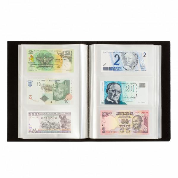 Album für 300 Banknoten, schwarz