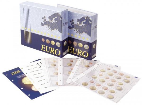 Vordruckalbum Euro-Kursmünzensätze: Alle Euro-Länder - mit Schutzkassette