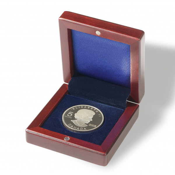 Münzetui VOLTERRA, für 1 Münze bis 41 mm Ø
