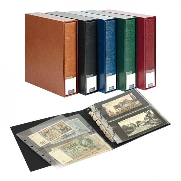 PUBLICA M Sammelalbum für bis zu 80 Banknoten/Postkarten