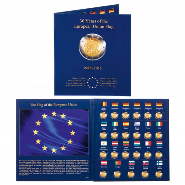 Münzalbum PRESSO 30 Jahre EU-Flagge
