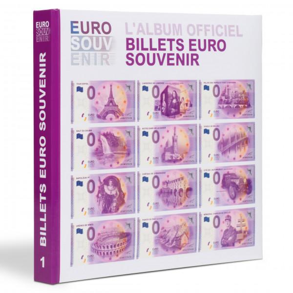 """Vordruckalbum für """"Euro Souvenir""""-Banknoten, Band 1"""