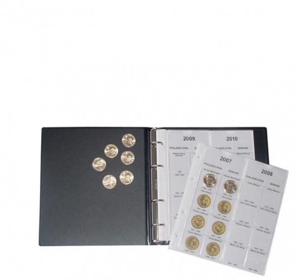 """Vordruckalbum für """"Presidential Dollar Collection"""""""