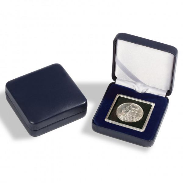 Münzetui NOBILE für 1 QUADRUM-Kappsel, blau