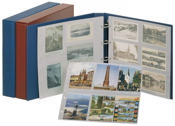 Set: Postkarten-Album STANDARD XL mit Kassette