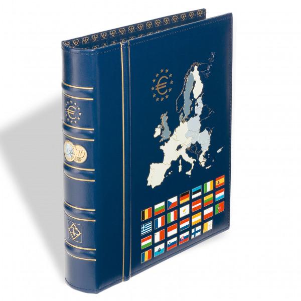 Ringbinder OPTIMA, Euro Classic-Design, farb. Rücken- und Deckelprägung