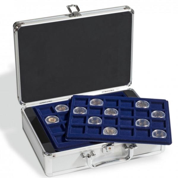 Münzkoffer CARGO S für 144 2-Euro-Münzen in Kapseln