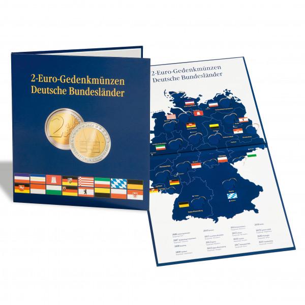 Münzalbum PRESSO für 2-Euro-Münzen Deutsche Bundesländer