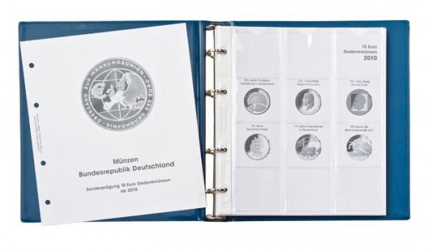 Vordruckalbum 10 Euro-Gedenkmünzen Band 2: 2010-2015