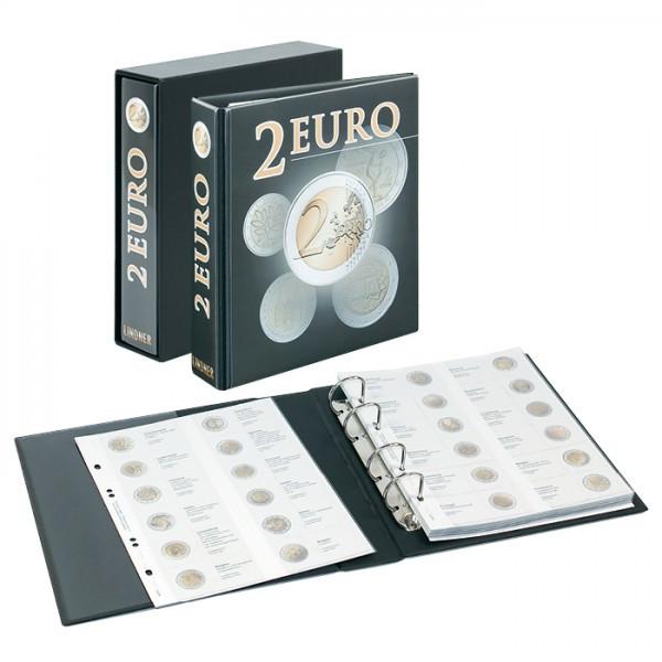 PUBLICA M 2 Euro-Vordruckalbum mit Schutzkassette