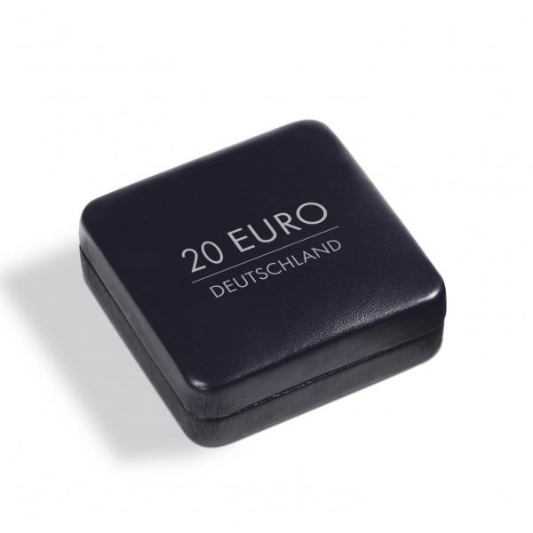 Münzetui NOBILE für 1 dt. 20-Euro-Gedenkmünze in Kapsel, schwarz